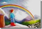 Célia Portal rainbow