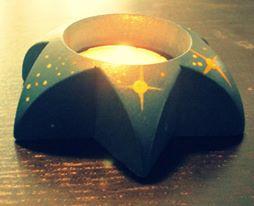 circle candle
